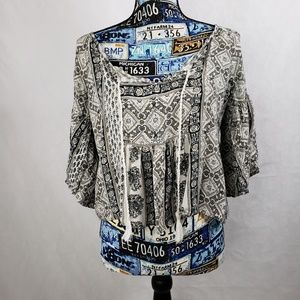 Abercrombie & Fitch shirt with bell sleeve Size S